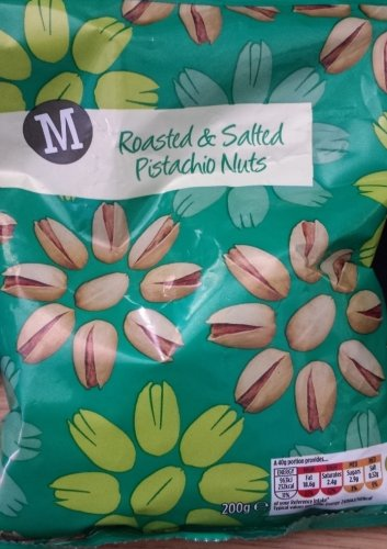 Morrisons Roasted Salted Pistachio Nuts 200g Bag For 1