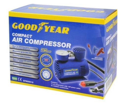 Goodyear Mini Compressor Ebay Seller Thinkprice
