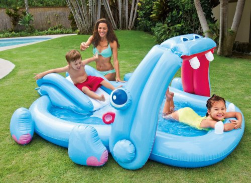 Intex hippo play centre paddling pool 9 in 3 for 2 for Paddling pools deals