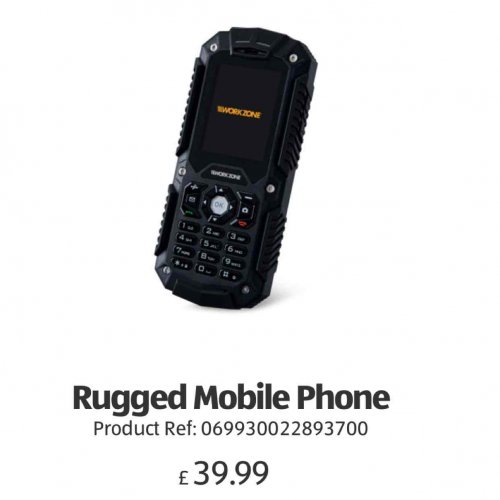 Rugged Mobile Phone Dual Sim 3g 163 39 99 Aldi From