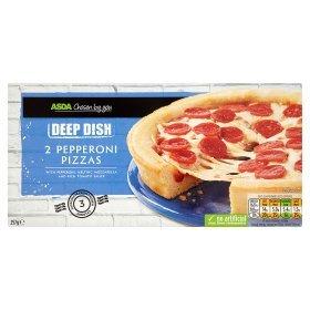 asda twin pack of pepperoni pizzas 50p asda instore. Black Bedroom Furniture Sets. Home Design Ideas