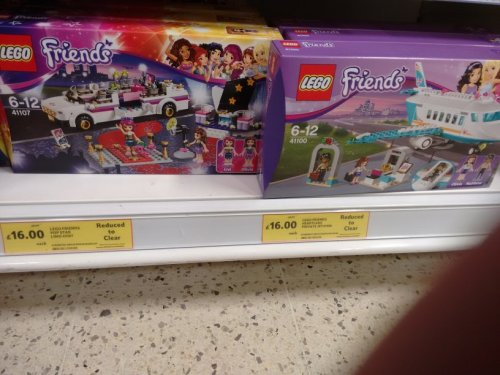Lego 39Friends39 Reduced To Clear Instore At Tesco  Pop Star Limo 41