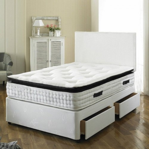 Paul Divan Bed With 2000 Spring Memory Foam Mattress Now Hotukdeals