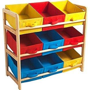 3 tier toy basket storage unit half price now c c. Black Bedroom Furniture Sets. Home Design Ideas