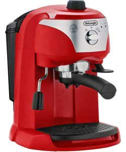 Argos Coffee Maker With Timer : De Longhi Motivo Espresso Cappuccino Maker - Red ?59.99 @ Argos - HotUKDeals