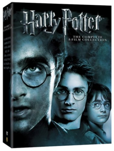 Harry potter the complete 8 film collection dvd for Sejour complet harry potter