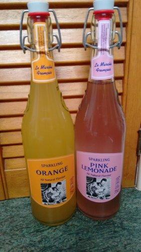 Aldi 75cl glass swing top bottles fizzy juice may be for Glas handtuchhalter aldi