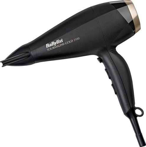 Babyliss tourmaline gold 2100w ac motor tourmaline for Ac motor hair dryer