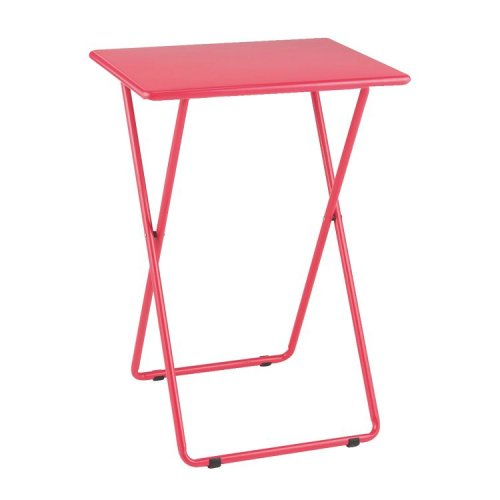 habitat airo metal folding table pink half price. Black Bedroom Furniture Sets. Home Design Ideas