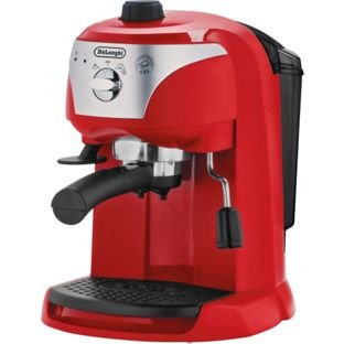 De Longhi ECC220.R Motivo Espresso Cappuccino Maker - Red ?64.99 Argos - HotUKDeals