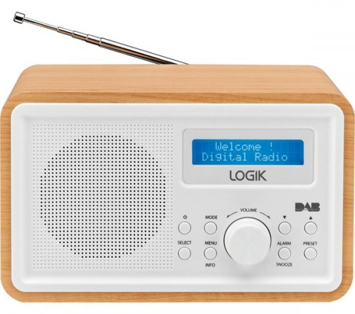 logik dab radio with alarm clock currys hotukdeals. Black Bedroom Furniture Sets. Home Design Ideas