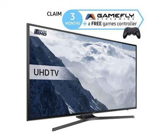 Samsung UE40KU6000 4k 40 Inch Smart TV With WiFi And HDR
