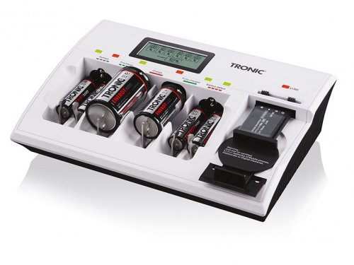 Lidl Tronic Universal Battery Charger 163 14 99 Available