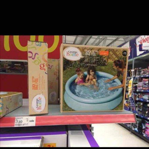 Asda 5ft paddling pool instore for hotukdeals for Paddling pools deals