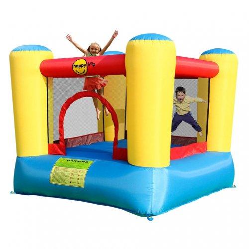Happy hop airflow bouncy castle in store morrisons 40 for Garden pool tesco