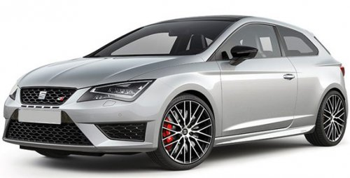 seat leon sport coupe 2 0 tsi cupra black 290 3dr 199 p m. Black Bedroom Furniture Sets. Home Design Ideas