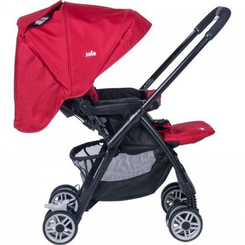 joie mirus scenic stroller poppy red rrp with free delivery kiddies. Black Bedroom Furniture Sets. Home Design Ideas