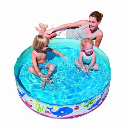 B m fill n fun paddling pool 48 x 10 now reduced to 1 for Paddling pools deals
