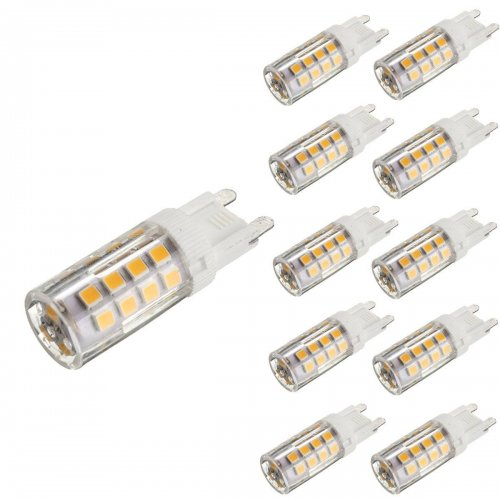 kingso 10 pack g9 5w led halogen bulb replacement warm white 2800 3200k 430lm not dimmable 35. Black Bedroom Furniture Sets. Home Design Ideas
