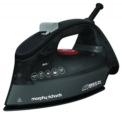 Morphy Richards 750 Watts: Morphy Richards 300254 Breeze Steam Iron, 2600 Watt