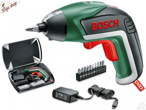 bosch ixo cordless lithium ion screwdriver with 3 6 v battery 1 5 ah b q hotukdeals. Black Bedroom Furniture Sets. Home Design Ideas