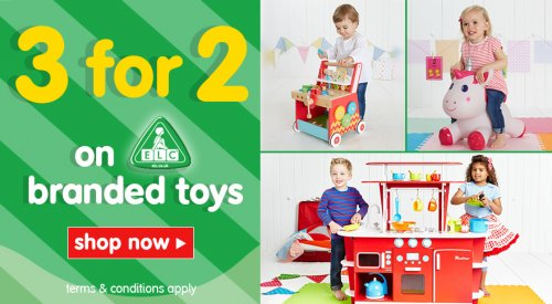 3 For 2 On Elc Branded Toys Inc 1 2 Price Happyland