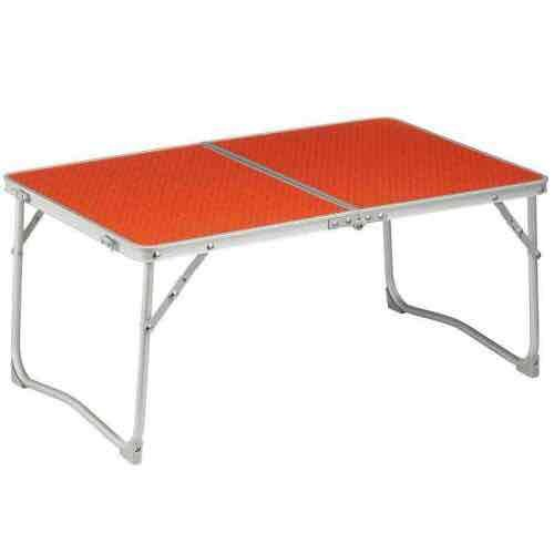 Quechua low folding camping laptop bed table decathlon - Decathlon table camping ...