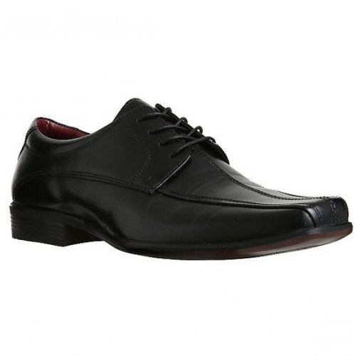 F F Leather Tramline Stitch Shoes