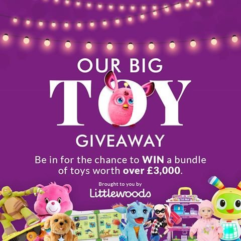 Win A Bundle Of Toys Worth Over 3 000 Littlewoods