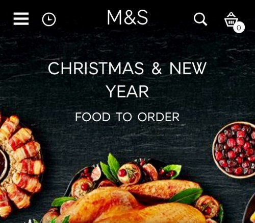 Christmas & New Year Food to Order. For a wonderful, stress-free Christmas and New Year, order your festive feast by 5pm on 15 December. Shop Christmas food. Welcome to Marks & Spencer. Get the finest Marks & Spencer products, delivered Internationally across 30 countries. Albania (ALL) Australia (AU$) Austria (€).