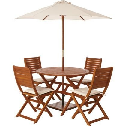 Garden Table And Chairs Set For Four Peru 75 Homebase HotUKDeals