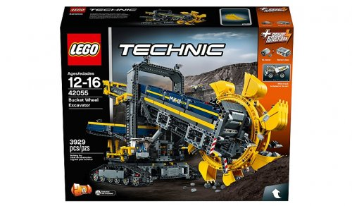lego technic bucket wheel excavator 42055 asda. Black Bedroom Furniture Sets. Home Design Ideas