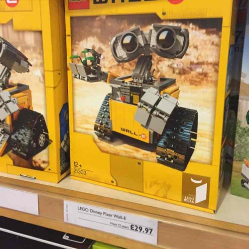 lego 21303 wall e john lewis in store only st. Black Bedroom Furniture Sets. Home Design Ideas