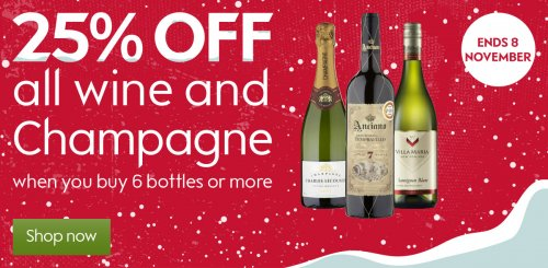 Even though the seasons keep changing, one thing will always remain the same - the love for wine. With seasonal offers of up to 40% off selected wines, you can save year-round. Warm up the cooler Autumn nights and enjoy those tipsy festive winter nights.