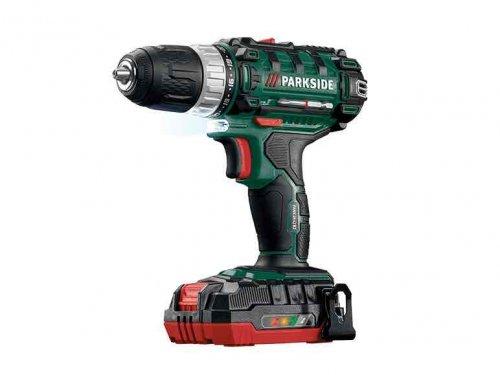 Parkside 20v li ion cordless drill lidl from 10 - Batterie parkside 20v ...
