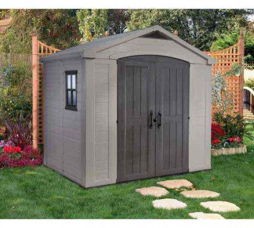 Keter 8 x 6 garden shed argos hotukdeals for Best deals on garden sheds