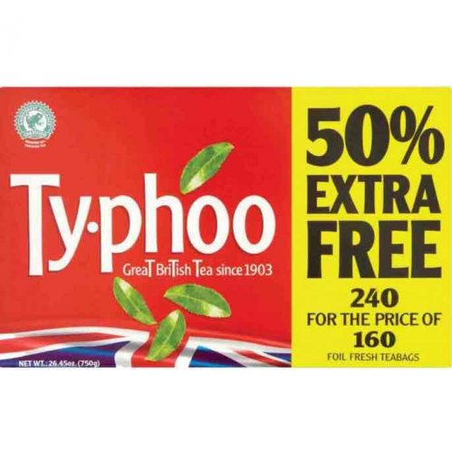 typhoo 240 tea bags poundstretcher hotukdeals. Black Bedroom Furniture Sets. Home Design Ideas