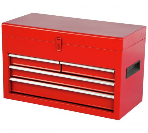 hilka 4 drawer tool chest from plus quidco. Black Bedroom Furniture Sets. Home Design Ideas