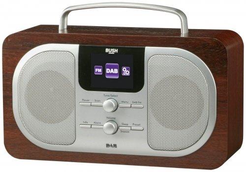 bush wood dab radio argos ebay hotukdeals. Black Bedroom Furniture Sets. Home Design Ideas