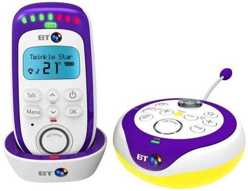 bt 350 hd audio baby monitor with light show refurbished telephones online hotukdeals. Black Bedroom Furniture Sets. Home Design Ideas