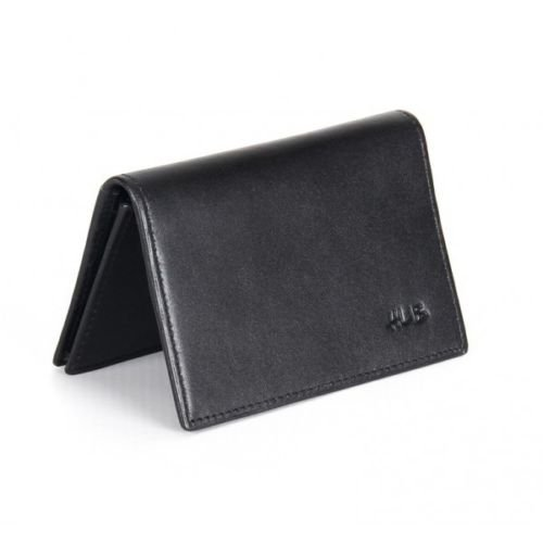 Hub Ultra Slim Leather Credit Card Holder And Wallet