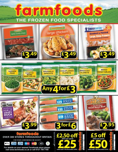 Farmfoods chicken deals