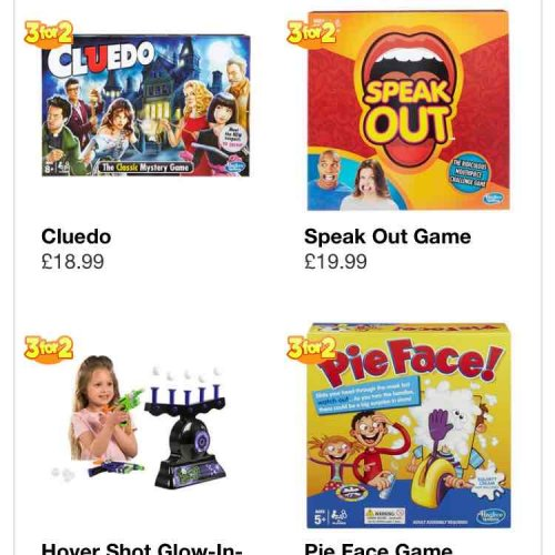 Smyths Toys Superstores has put together a list of this year's most popular games for the festive season. With board games being a favourite among families at Christmas, Smyths Toys Superstores has created the following list to help guide shoppers when it comes to buying games .