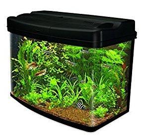 Interpet fish pod glass aquarium fish tank 64 l for Fish tank deals