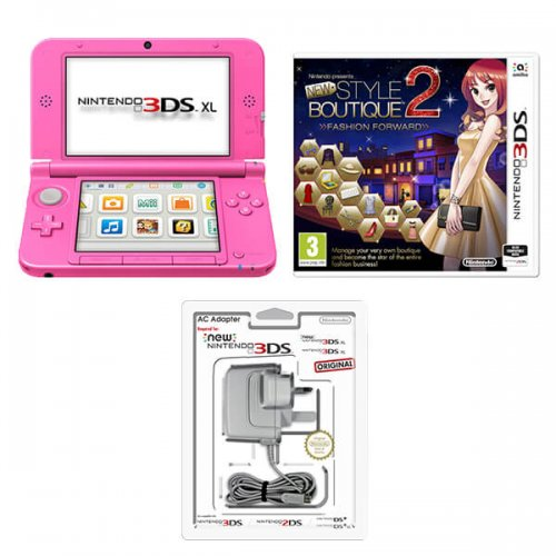 Pink 3ds Xl Pink Nintendo Presents New Style Boutique 2 Fashion Forward Nintendo