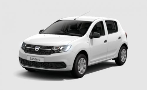 new dacia sandero 2017 facelift still only 5995 otr. Black Bedroom Furniture Sets. Home Design Ideas