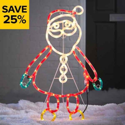 25 off christmas decorations and lights at b q hotukdeals