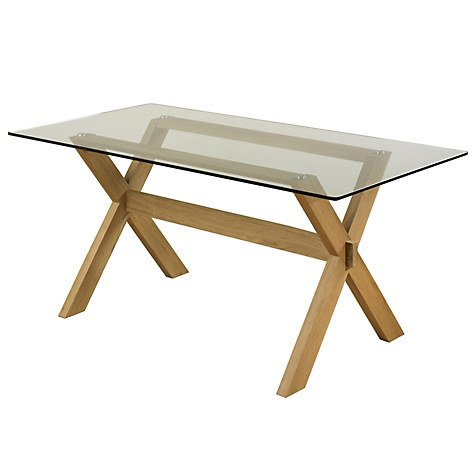 John lewis gene rectangular 6 seater dining table 199 for Dining table deals