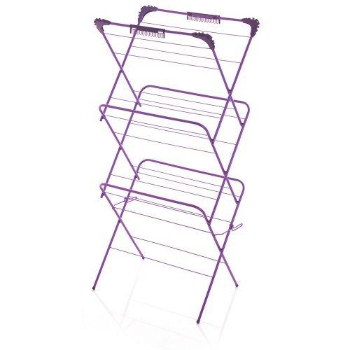 3 tier 14m clothes dryer airer rack 8 from wilko blue. Black Bedroom Furniture Sets. Home Design Ideas
