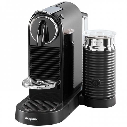 Nespresso Citiz & Milk Coffee Machine by Magimix in black  -> Nespresso John Lewis